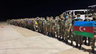 Photo of Вторая группа азербайджанских пожарных отправилась в Турцию