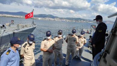 Photo of Азербайджанские военные моряки закончили практические курсы в Турции