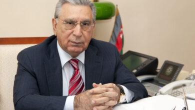Photo of Ramiz Mehdiyev qurultaydan danışdı