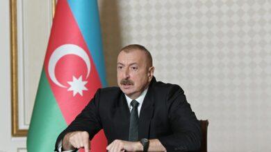 """Photo of İlham Əliyev: """"Ermənistanda indi tamamilə böhranlı vəziyyət hökm sürür"""""""