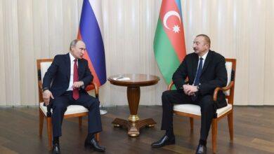 Photo of İlham Əliyevlə Vladimir Putin arasında telefon danışığı olub