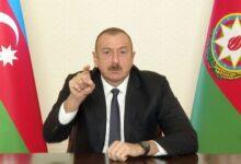 """Photo of İlham Əliyev: """"Hər hansı bir qisas cəhdi Azərbaycan tərəfindən ciddi şəkildə cəzalandırılacaq"""""""