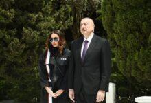 Photo of Prezident İlham Əliyev və Mehriban Əliyeva Tatarıstan Prezidentinə başsağlığı veriblər