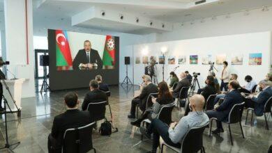 Photo of İlham Əliyev mətbuat konfransı keçirib