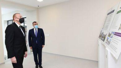 Photo of İlham Əliyev Şağan Reabilitasiya Pansionatının açılışında