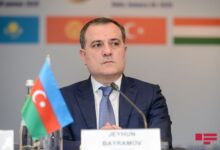 """Photo of Ceyhun Bayramov: """"Ermənistanın davranışı bəyanatın reallaşdırılmasına mane olur"""""""
