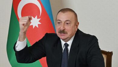 Photo of İlham Əliyev YAP-ın qurultayında tarixi qələbədən danışdı
