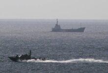 Photo of İsrail gəmisi raketlə vurulub