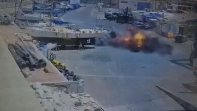 Photo of İsrailin liman şəhəri raket atəşinə tutulub