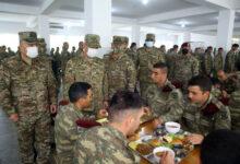 Photo of Müdafiə naziri işğaldan azad edilmiş ərazilərdə yerləşən hərbi hissədə olub
