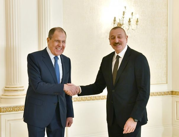 Photo of İlham Əliyev Sergey Lavrovu qəbul edib
