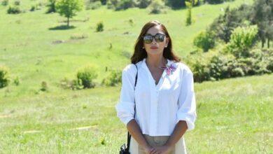 Photo of Mehriban Əliyeva Qubadlıdan görüntü paylaşdı