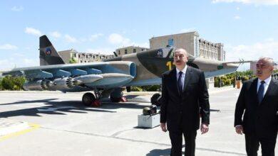 Photo of İlham Əliyev Naxçıvanda hərbi aerodromunun açılışında iştirak edib
