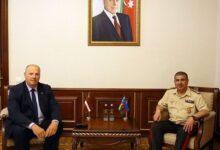 Photo of Zakir Həsənov Latviyanın NATO-nun PA-dakı nümayəndə heyətinin üzvü ilə görüşüb