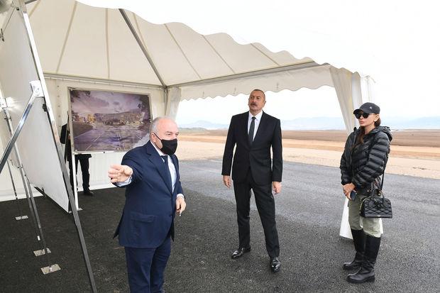 Photo of Prezident və birinci vitse-prezident Zəngilan beynəlxalq aeroportunda görülən işlərlə tanış olublar