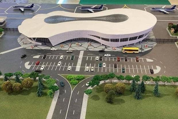 Photo of Zəngilan Beynəlxalq Hava Limanının maketinin görüntüləri paylaşılıb